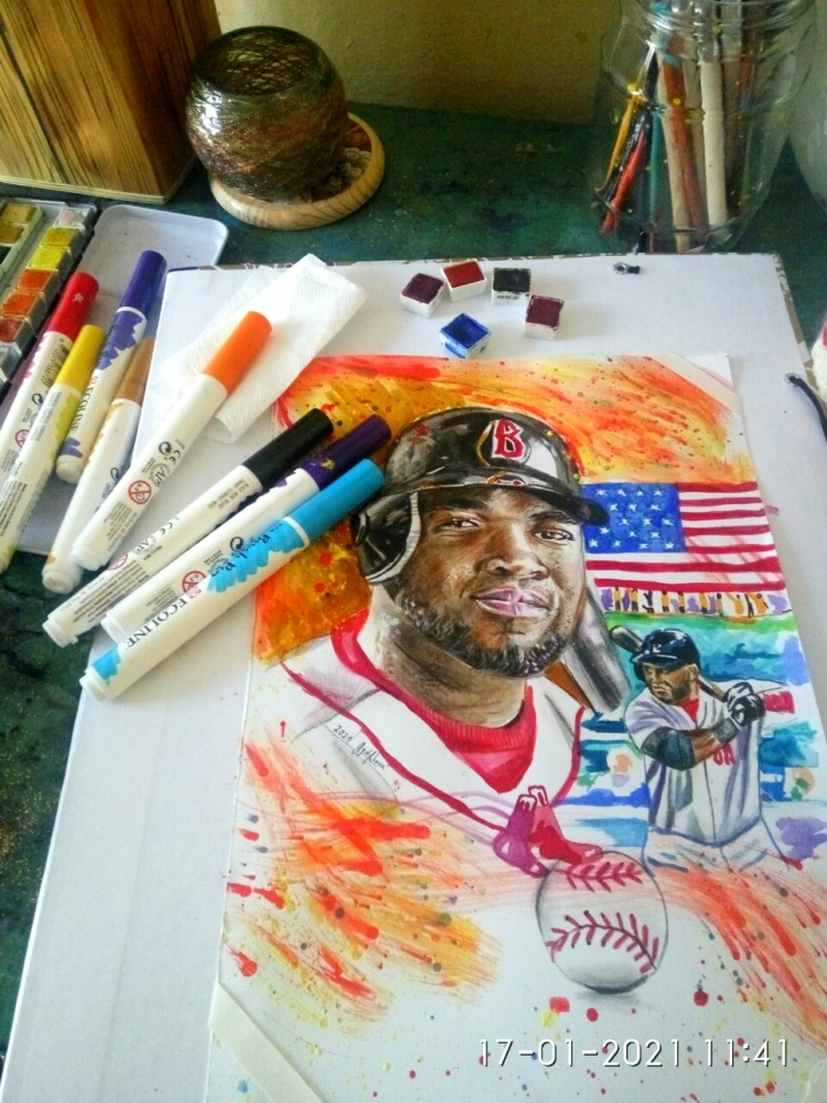 David Ortiz by lilie1111